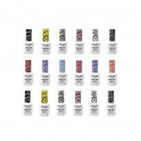 18 Esmaltes Semipermanentes Color x15 ml Anush
